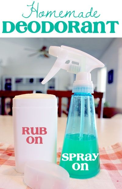DIY Deodorant & Antiperspirant (Aluminum Free) ~ NutButterLuver
