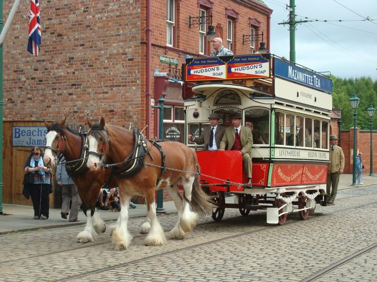 The only working (indeed, complete) Eades Patent Reversible Horse Tram and the facility to rotate the body was ably demonstrated during its public running sessions at Beamish. It is currently on display at the Bury Transport Museum.