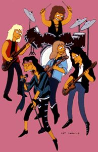 #Aerosmith en #LosSimpson #TheSimpsons