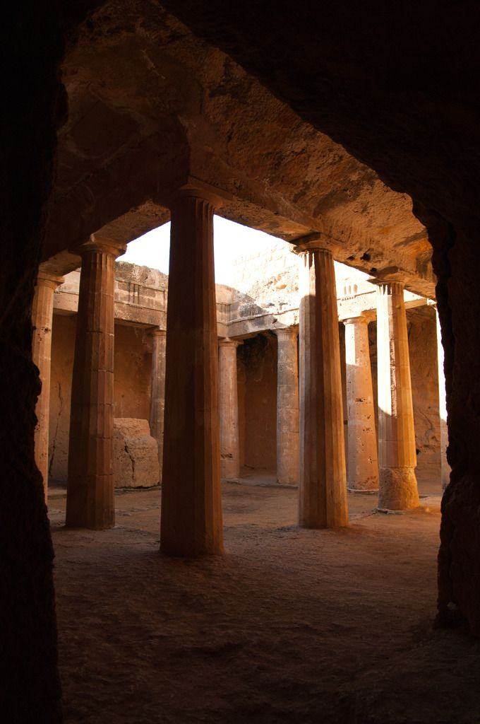 Tombs of Kings, Paphos Cyprus