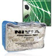 Nivia Football Net 7.32l*2.44h Mtr.sq.mesh Woven Terylene,net Hole 12.5 Cm