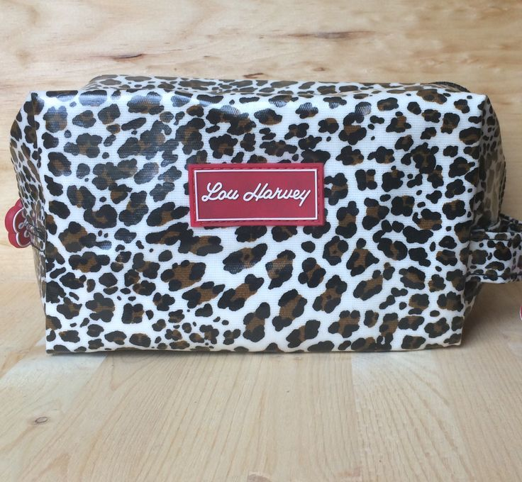 Special edition Lou Harvey cosmetic in leopard. See more at louharveycanada.ca