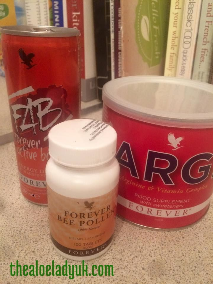 my forever living energy heros. argi instead of coffee, bee pollen for a kick start in the mornings and a FAB to give me a boost later in the day. www.thealoeladyuk.com