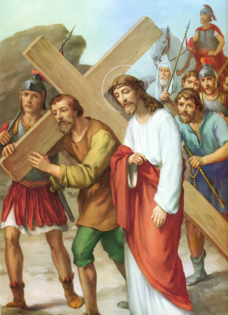 Estacion5_Jesus_es_ayudado_por_Simon_de_Cirene