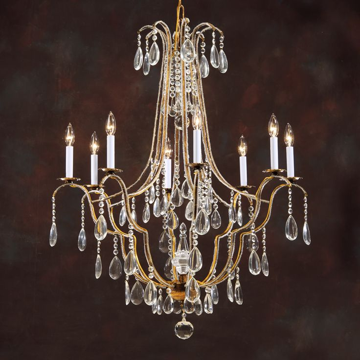 7971 Crystal Chandelier 28 best Kathy Lamps