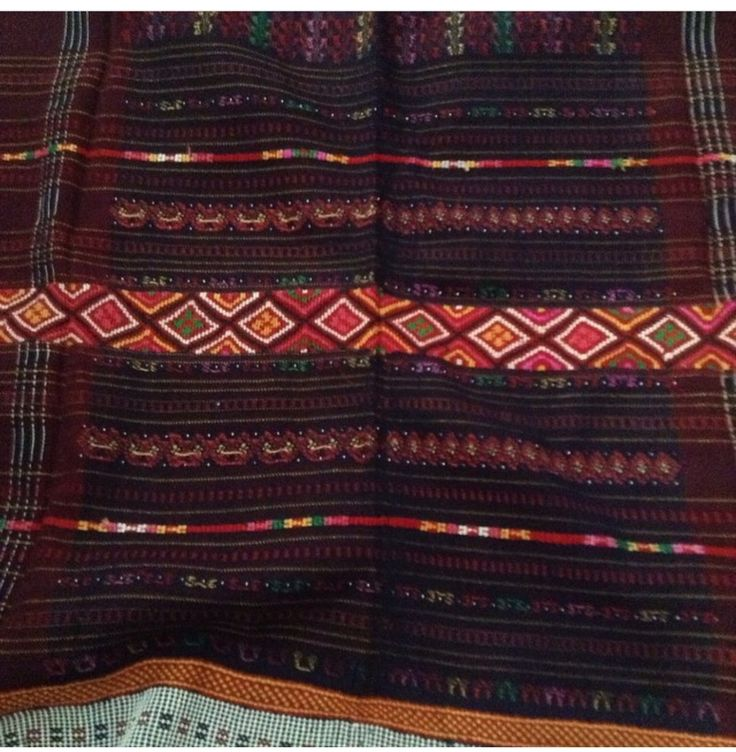 Ulos - handwoven shawl from Batak North Sumatera Indonesia