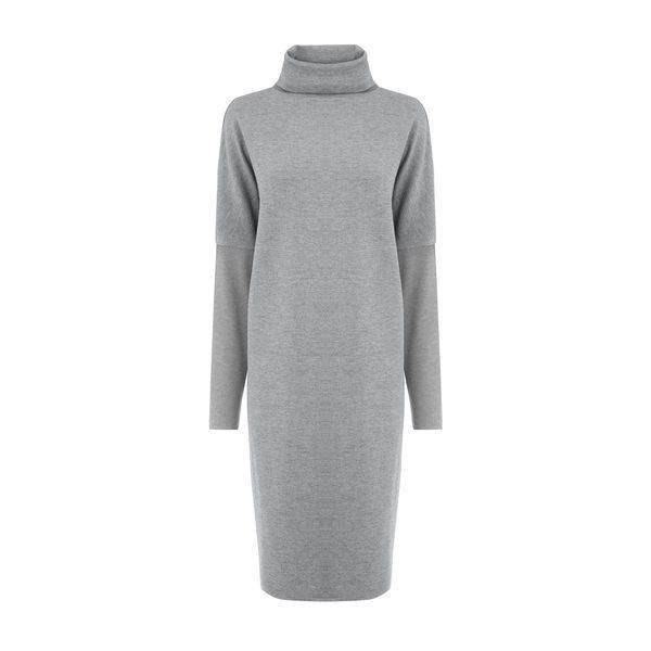 Warehouse Warehouse Rib Detail Roll Neck Dress Size 8 (300.850 IDR) ❤ liked on Polyvore featuring dresses, dark grey, dark grey dress, dark gray dress, high neck dress, warehouse dresses and high neckline dress