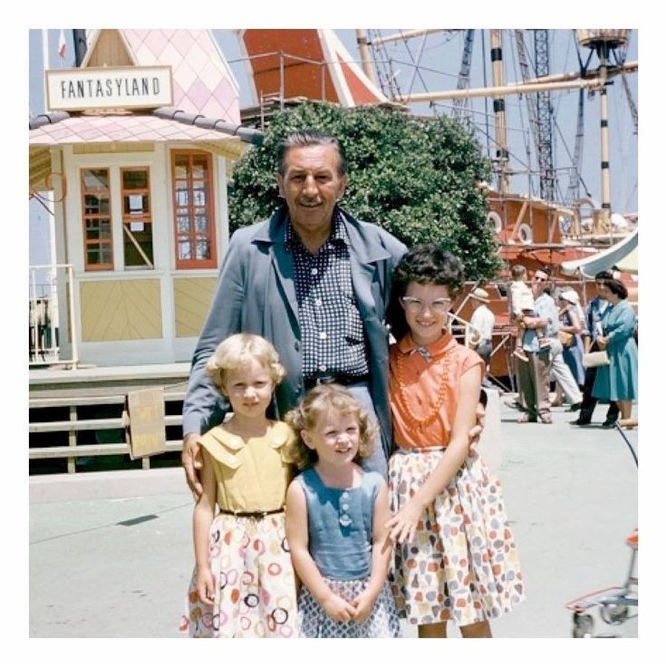 Think about what it would have been like to be one of Walt's kids....Wow!