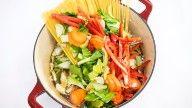 vegansk one pot pasta oppskrift