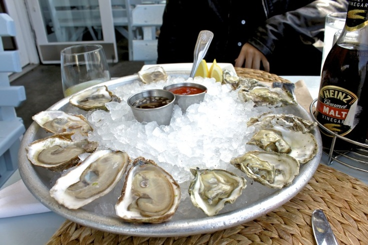dream dinner? oysters and french fries