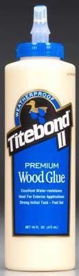 5004 Titebond Waterproof Glue 16 oz
