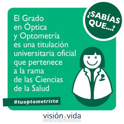 CENTRO ÓPTICO Juan Ramón TENA: ¿Sabes qué somos los #ópticos #optometristas?
