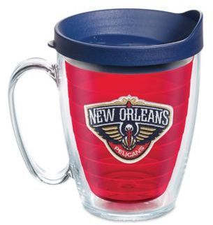 Tervis NBA New Orleans Pelicans 16 oz. Mug in Red with Blue Lid