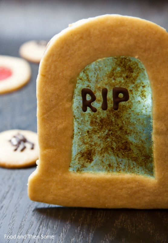 #Halloween Stained Glass #Cookies