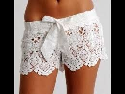 Image result for shorts with lace