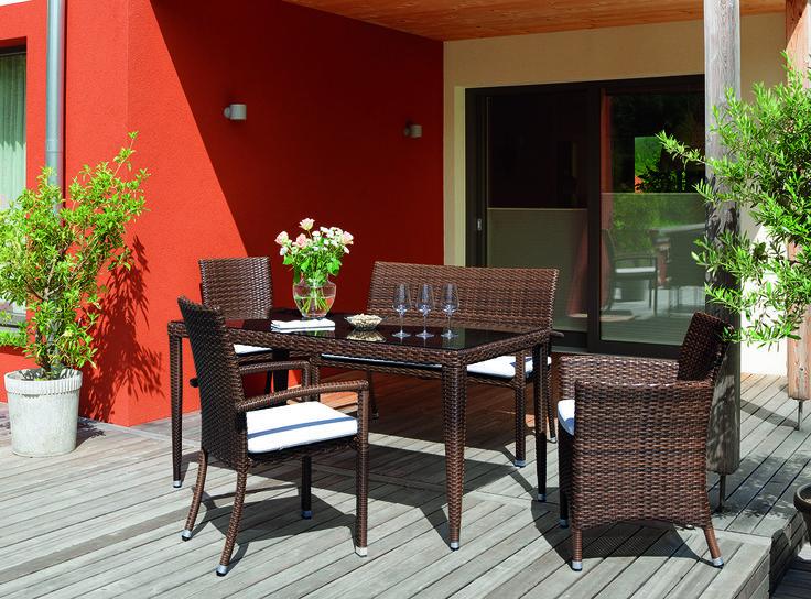 """Colecția """"Habanero"""" are un design șic, fiind pefectă pentru terasa sau grădina ta."""
