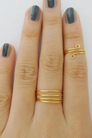 DIY Wire Rings.
