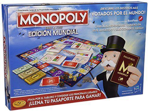 Hasbro Gaming – Juego de mesa Monopoly Edición Mundial (B2348546) (versión española)