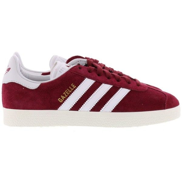 Adidas Gazelle Sneakers ($99) ❤ liked on Polyvore featuring shoes, sneakers, adidas shoes, adidas sneakers, adidas footwear, adidas and adidas trainers