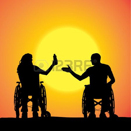 Wheelchair Woman Stock Vector Illustration And Royalty Free ...