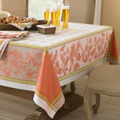 Aviary Jacquard Tablecloth, 70
