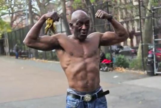 70 year old fit black man