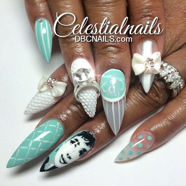 "Celestialnails @celestialnails ""For Audrey&...Instagram photo   Websta (Webstagram)"