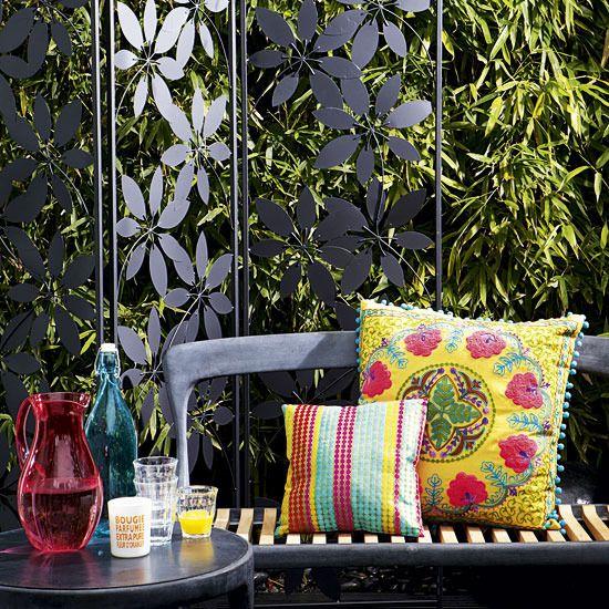 Decorative urban garden