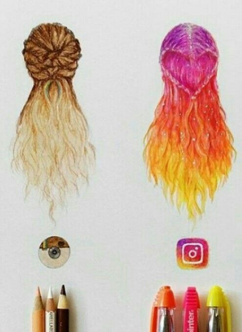 Instagram diferente look