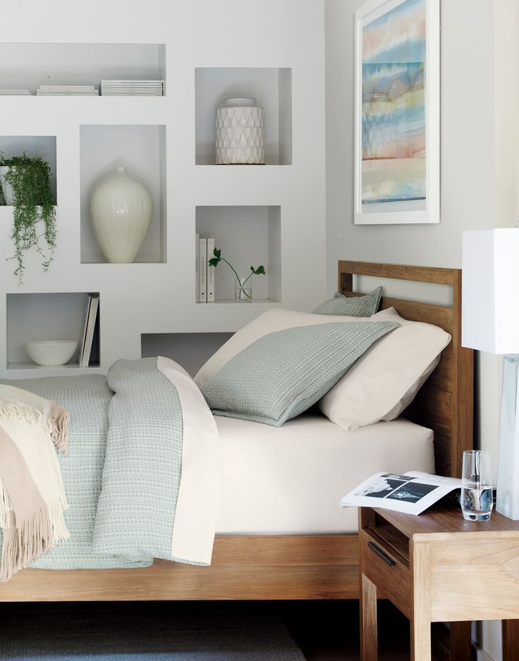the linea queen bed is a crate and barrel exclusive