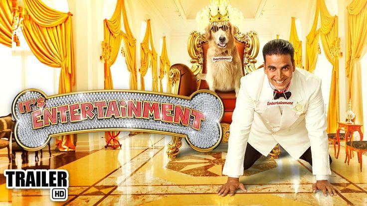 Watch the Official Hindi HD trailer of the latest Bollywood Film of 2014, 'Its Entertainment' starring #AkshayKumar & #TamannaahBhatia.