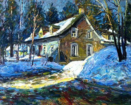 Maison Renée-Richard - Raynald Leclerc - Galerie d'art Iris, Baie-Saint-Paul - Charlevoix