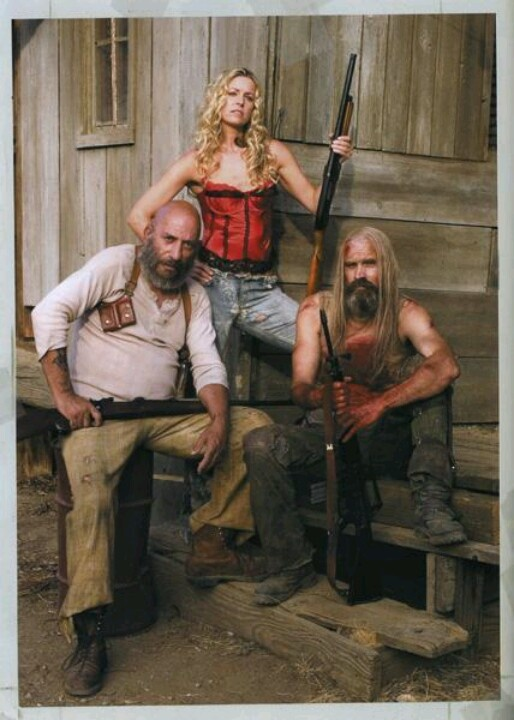 """The Devil's Rejects (2005) - """"Hell doesn't want them. Hell doesn't need them… // Sid Haig, Captain Spaulding costume/outfit from scene at brothel/whore house, shows boots"""