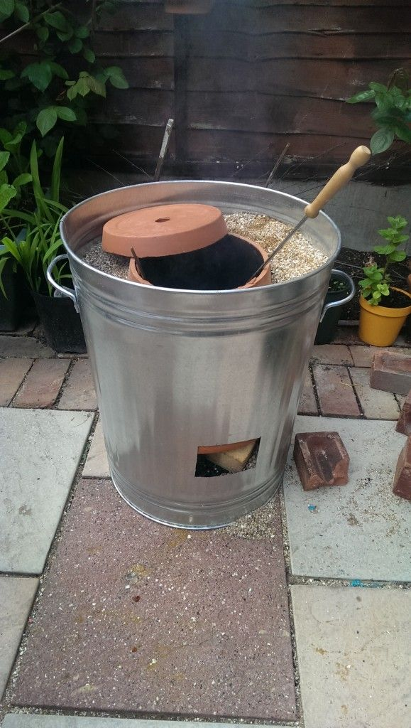 *Update* Make your very own DIY Tandoori Oven (refers to a variety of ovens, the most commonly known is a cylindrical clay or metal oven used in cooking and baking. )