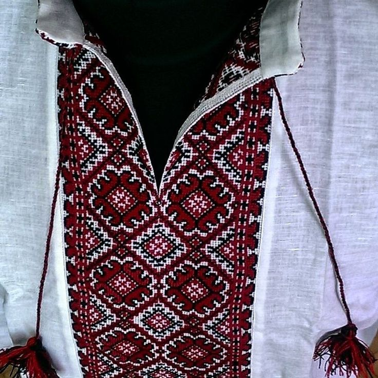 FATHER'S DAY GIFT IDEA Ukrainian Embroidery Mens VYSHYVANKA LINEN Slavic SHIRT  #handembroidered #Folk
