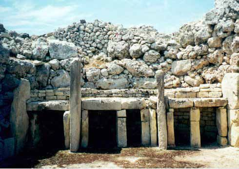 Prehistoric Temples Of Malta -  The temples date from 4000 - 2500 BC. They are older than Stonehenge, older than the Pyramids