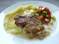 Pomalý hrnec : Vepřová kýta na másle a cibuli v pomalém hrnci