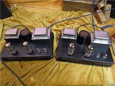 VTL 50 Watt Valve Monoblocks with EL34s
