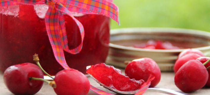 Συνταγή για λαχταριστή σπιτική μαρμελάδα κεράσι [εικόνες]