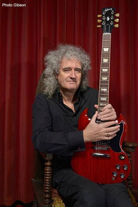 This is not the 'Brian May Red Special Guitar', this is one of a Gibson SG series guitar (Angus Young of AC/DC also plays Gibson SG)... This is the Red Special instead
