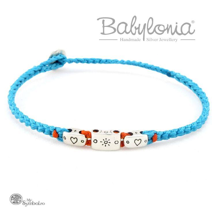 New Babylonia symbols and colours! Babylonia handmade silver jewelry @ www.mysymbol.ro & @Otherside #Babylonia #colier #Jewelry #mysymbol #babyloniasymbols #Greece