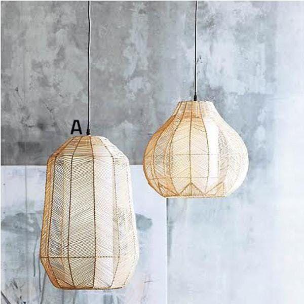 Ariel Rattan Pendant Lamps In 2019 Modern Lighting