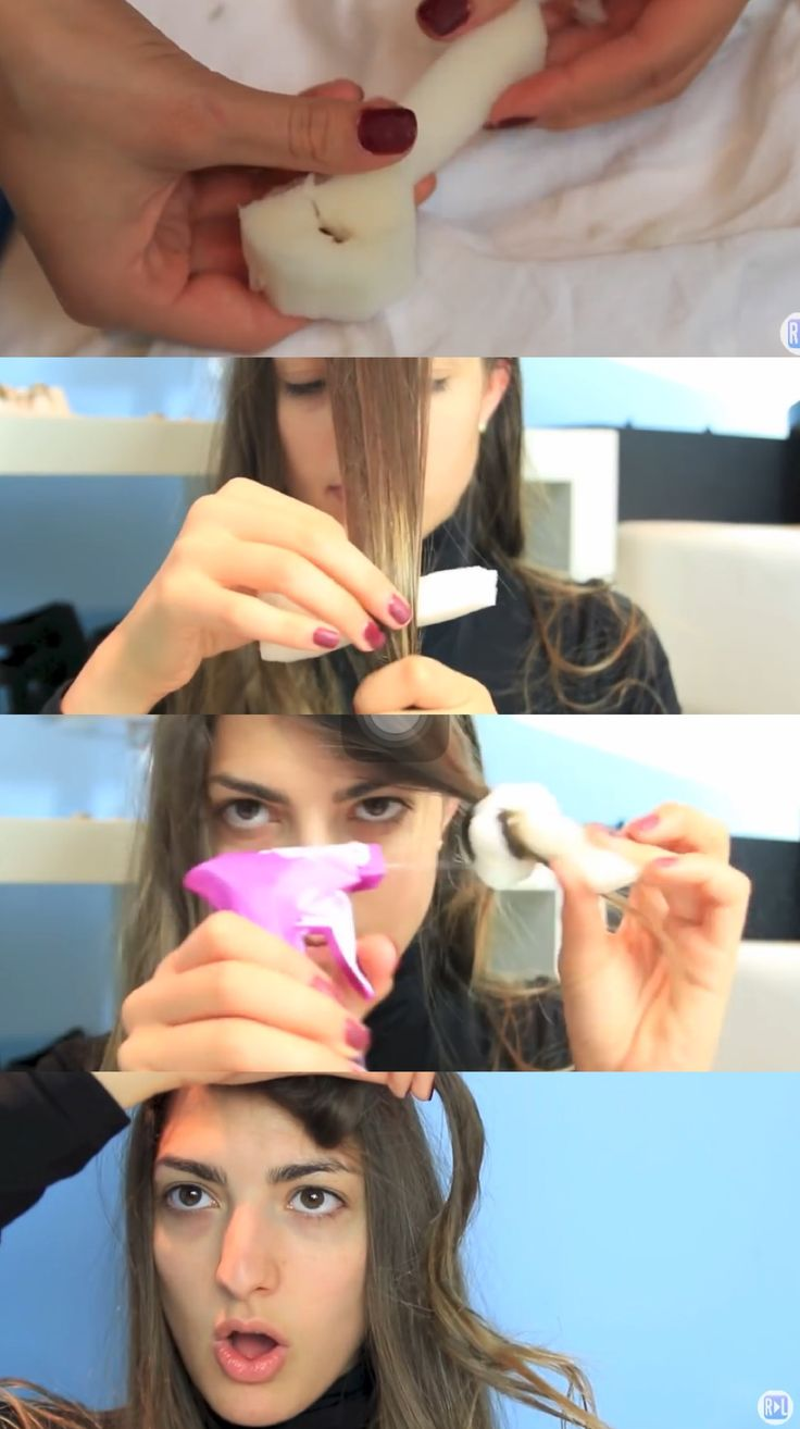 how to use foam hair curlers