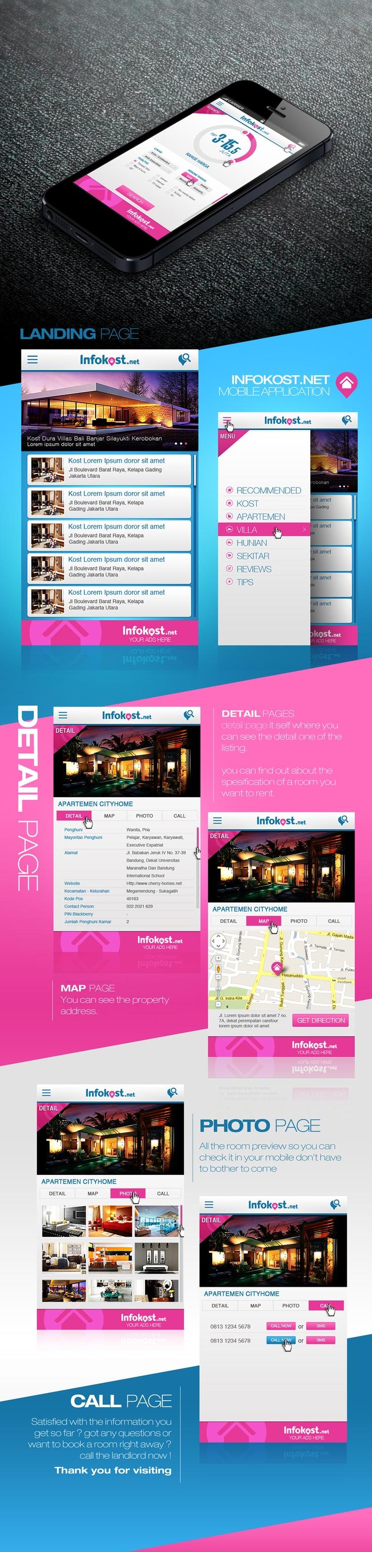 Infokost.net mobile application for all mobile phone