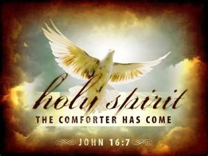 Holy Spirit was w/ our Mom when she was filled with cancer. She loved the Holy Spirit.