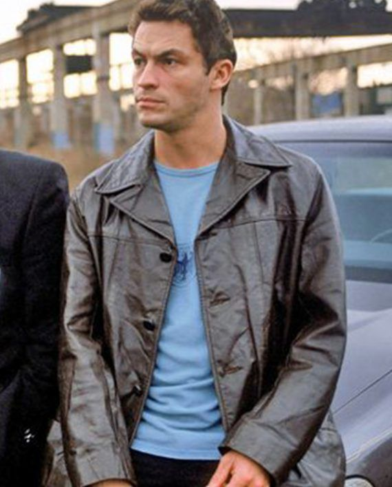Dominic West The Wire Series Leather Coat Dominic West Leather Coat Shirt Style