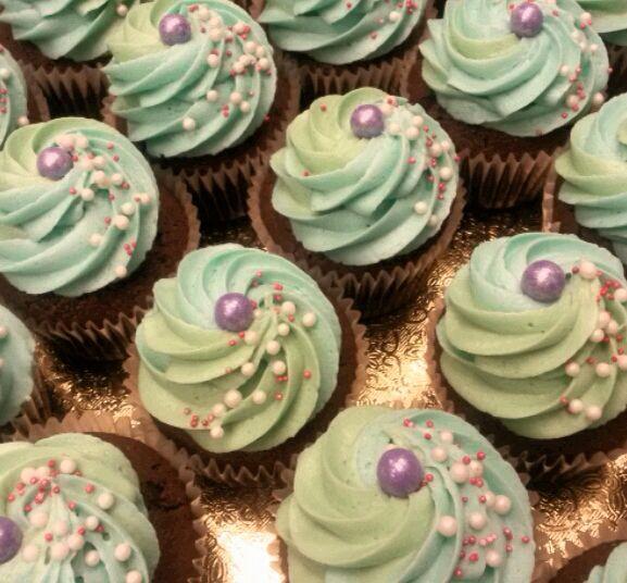 Little Mermaid Cupcakes DIY