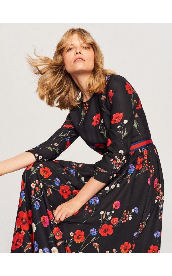 bbce4bbc00 Sukienka w kwiaty