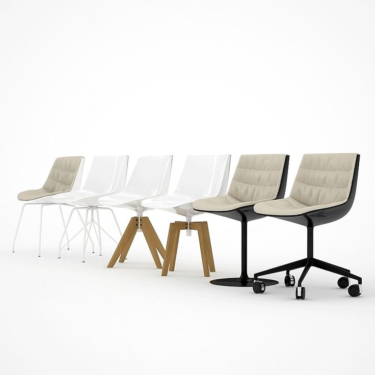 MDF Italia - Flow Chairs Collection-0