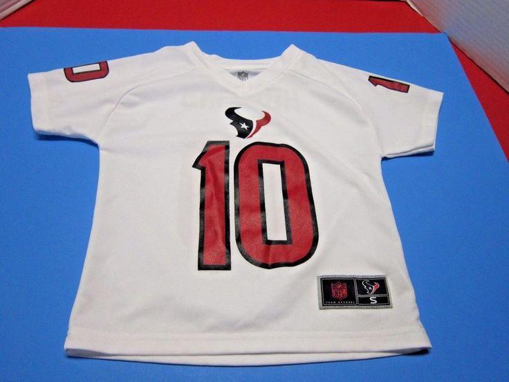 9a267b9e3 ... 10 Deandre Hopkins 15 Will Houston Texans Deandre Hopkins10 Toddler  Size Small (4) NFL Shirt White ...